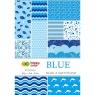 Blok z motywami A4/15 arkuszy - Blue (406551)