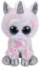 Maskotka Beanie Boos Flippables: Diamond - cekinowy jednorożec 24 cm (36435)