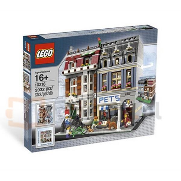 LEGO Modular Houses Pets Shop (10218)
