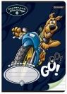 Zeszyt A5 Scooby Doo w trzy linie 16 kartek Go!