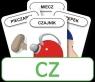 Karty Logopedyczny Piotruś Część III - głoska CZ