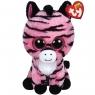 Maskotka Beanie Boos - różowa zebra Zoey 24 cm (37035)