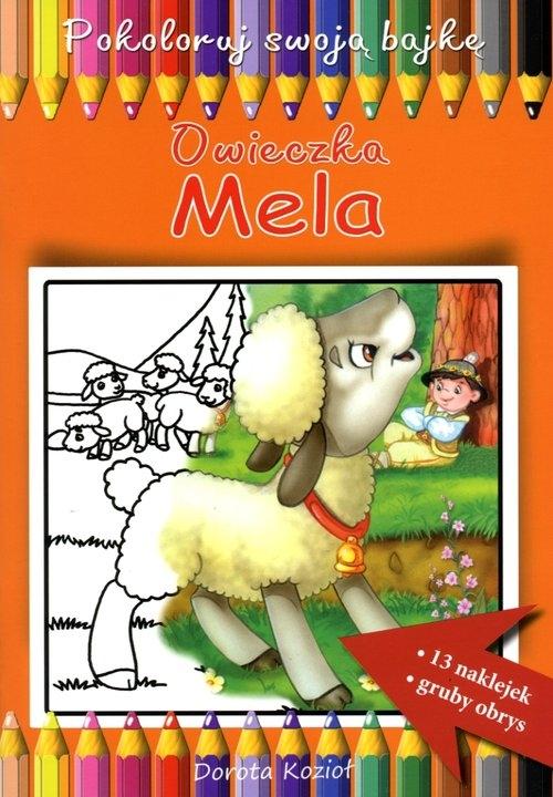 Owieczka Mela Pokoloruj swoją bajkę Kozioł Dorota