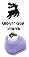 Dziurkacz ozdobny mały 1,8cm Renifer GRAND