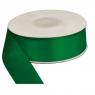 Wstążka satynowa zielona 25mm/25m