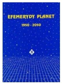 Efemerydy planet 1950-2050 Nawrocki Janusz