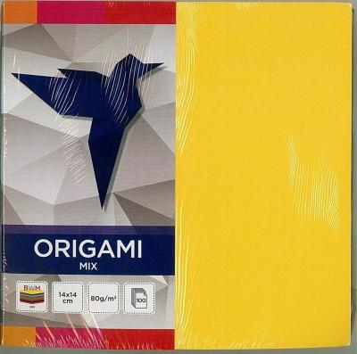 Origami - papier kolorowy, 14x14cm/100k (346192)