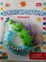 Grzechotka dziecięca Krokodyl