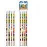 Ołówek z gumką Safari 4 sztuki