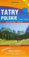 Tatry Polskie Mapa turystyczna
