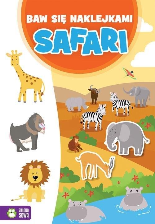 Baw się naklejkami Safari
