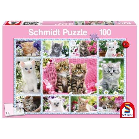 Puzzle 100: Kocięta