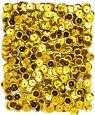 Cekiny metalizowane 9mm 15g - złote