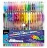 Długopisy żelowe Kidea, zestaw 36 kolorów (DRF-33352)