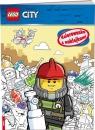 Lego City. Kolorowanka z naklejkami