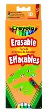 Kredki ołówkowe Crayola ścieralne 10 sztuk (3635)