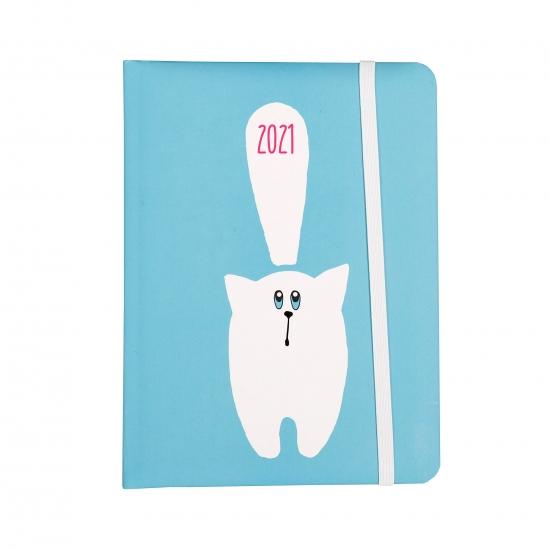 Kalendarz dzienny B6 2021 - Kot