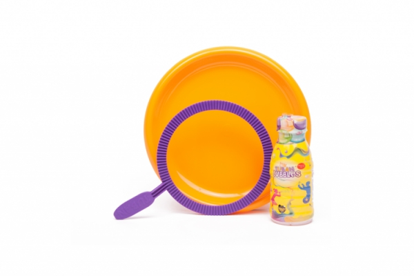 Tuban Zestaw do baniek mydlanych: obręcz + płyn Tuban 250 ml (TU 3635)