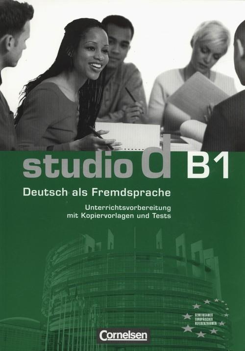 Studio d B1 Unterrichtsvorbereitung - książka