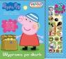 Peppa Pig Wesoły świat naklejek Wyprawa po skarb