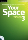 Your Space 3 Teacher's Book + Tests CD Holcombe Garan, Hobbs Martyn