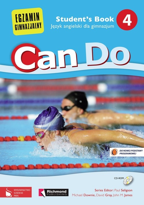 Can Do 4 Student's Book Język angielski dla gimnazjum Downie Michael, Gray David, Jimenez Juan Manuel