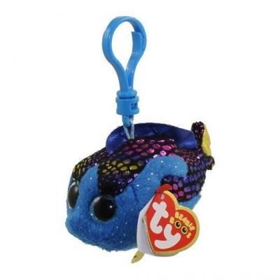 Maskotka-brelok Beanie Boos: Aqua - niebieska rybka (35035)