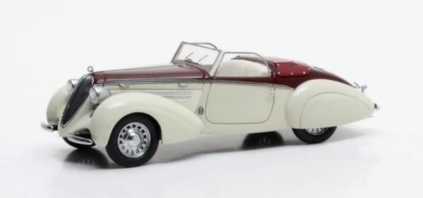 Steyr 220 Gleaser Sport Cabrio 1938 (white/maroon) (MX41806-011)