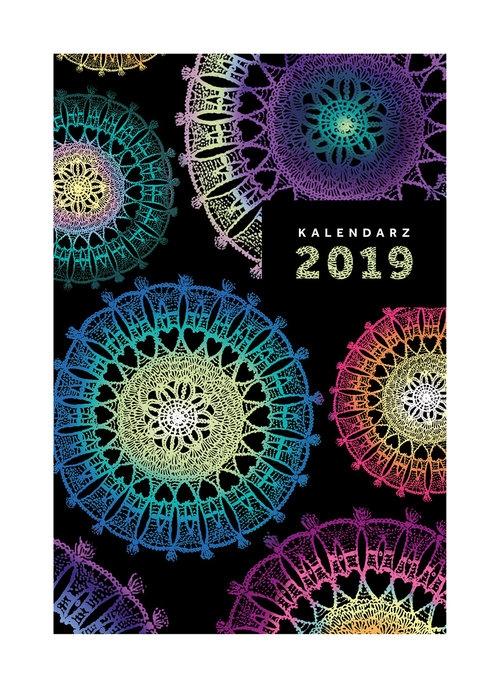 Kalendarz Narcissus A5 dzienny Doily 2019