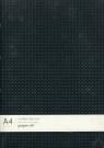 Notatnik A4 Paper-oh Black on Grey / Grey on Black