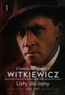 Listy do żony 1923-1927 Tom 1 (Uszkodzona okładka) Witkiewicz Stanisław Ignacy