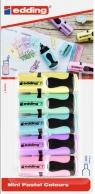 Zakreślacze pastelowe mini - 5 kolorów (7/5/099-BL)