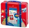 Pisaki Connector w walizce podróżnika, 40 kolorów (155535 FC)