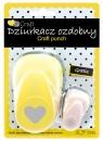 Dziurkacz ozdobny/kreatywny 3,7cm - serce + gratis (JCDZ-115-023)