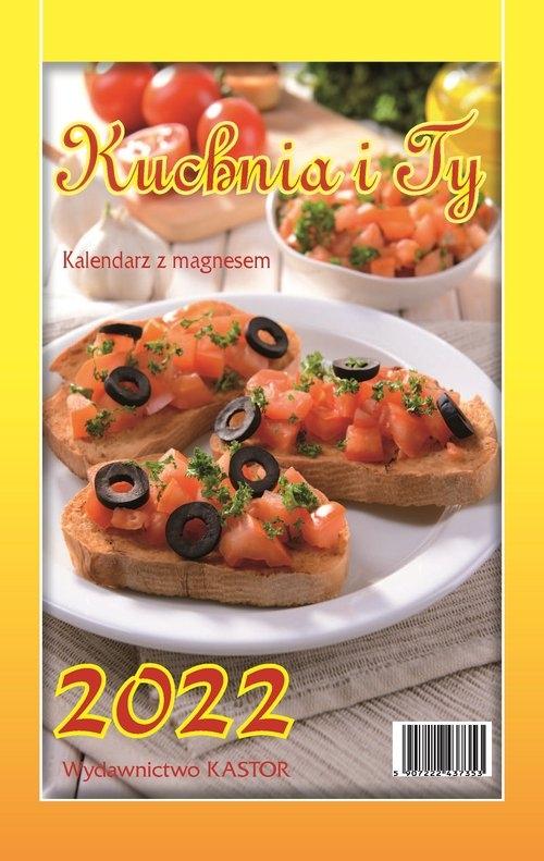 Kalendarz 2022 KL03 KUCHNIA I TY z magnesem x