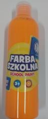 Farba szkolna Astra 250ml fluorescencyjna pomarańczowa