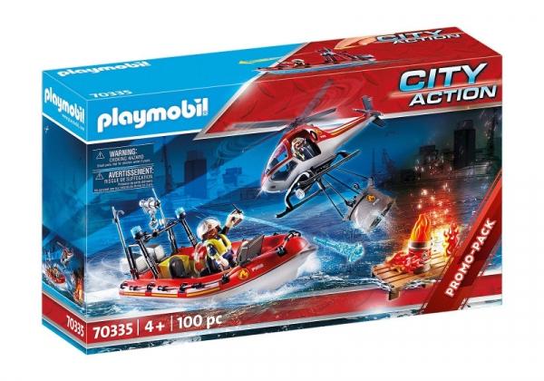 Playmobil City Action: Jednostka straży pożarnej (70335)