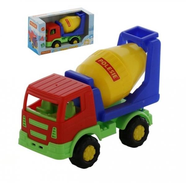 Tioma samochód betoniarka w pudełku (68354)