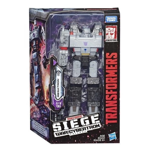 Figurka Transformers Generations War for Cybertron Voyager Megatron (E3418/E3543)