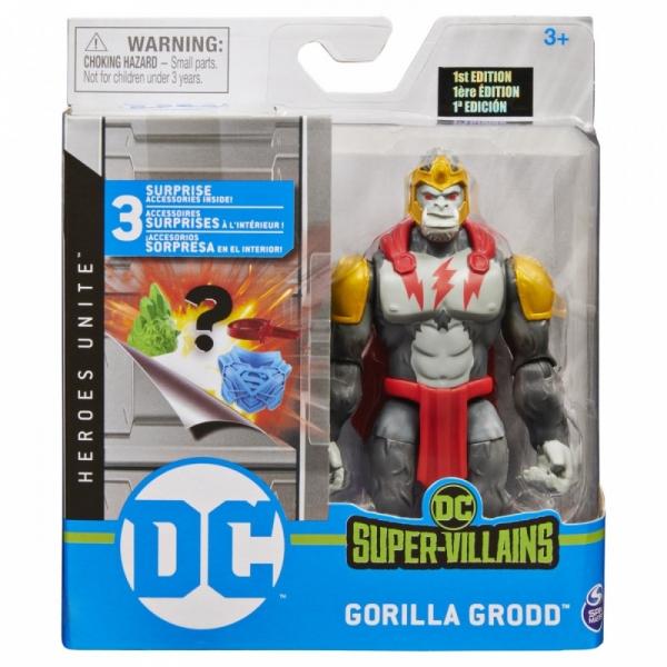 Figurka DC 10 cm Gorilla Grodd S1 V1 M2 (6056331/20126027)