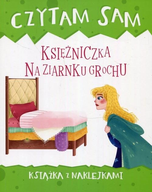 Czytam sam Księżniczka na ziarnku grochu Książka z naklejkami Valentino Paolo