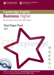 Camb English Business Higher 2011 Exam Papers and Teacher's Booklet with Audio CD Corporate Author Cambridge ESOL