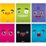 Zeszyt A5/32k kratka - Funny Faces (9572686)