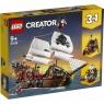 Lego Creator: Statek piracki (31109) Wiek: 9+