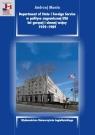Department of State i Foreign Service w polityce zagranicznej USA lat gorącej i Mania Andrzej