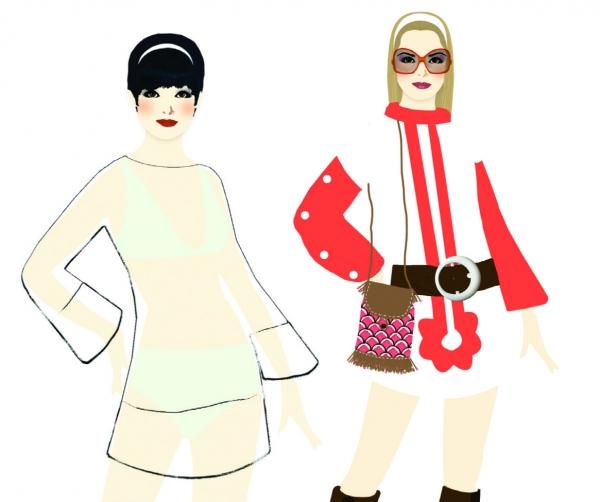 Zestaw artystyczny Pokaz mody New York (DJ08735)
