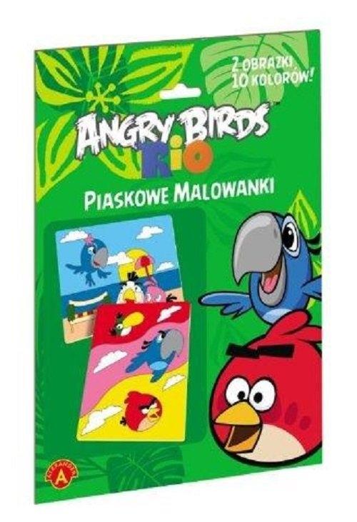 Piaskowe malowanki Angry Birds Rio