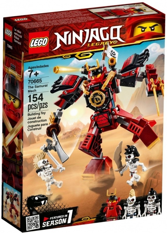 Klocki Ninjago Mech-samuraj (70665)