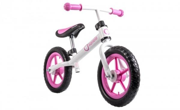 Rowerek biegowy Fin Plus pink (52355)