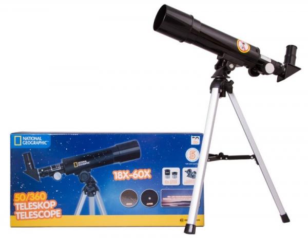 Teleskop Bresser National Geographic 50/360 AZ (69378)